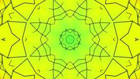 Animowani stubarwni wzory abstrakcja kalejdoskop 3 d czyni? ilustracja wektor