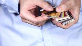 animowany karciany koloru ekranu telewizi test tv zdjęcie wideo