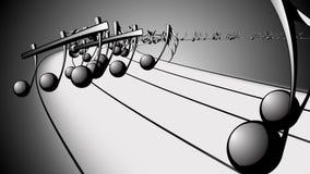 Animowany tło z muzykalnymi notatkami, Muzyczne notatki - pętla