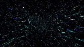 Animujący z latanie gwiazdami