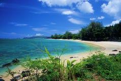 anini海滩 免版税库存图片