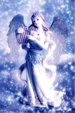 aniołów boże narodzenia Obraz Royalty Free