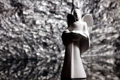 aniołów boże narodzenia odizolowywali biel fotografia royalty free