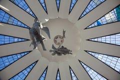 aniołów Brasilia szkło plamiący Fotografia Stock