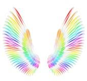 Aniołów skrzydła Zdjęcia Royalty Free