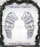 Aniołów skrzydła Fotografia Royalty Free