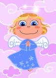 anioł śliczny ilustracja wektor