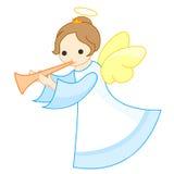 anioł śliczny Obraz Royalty Free