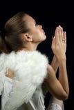 anioł śliczny Zdjęcie Royalty Free