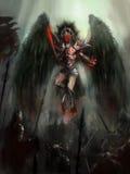 Anioł śmierć royalty ilustracja