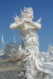 Anioł śmiertelna statua w Wacie Rong Khun, Chiang Raja prowincja, nor fotografia royalty free