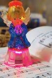Anioł śpiewa Fotografia Stock