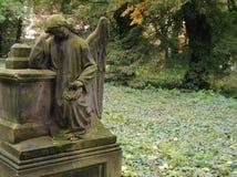 anioł żałobie Zdjęcie Royalty Free