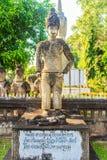 Anioł arbitraż przy Sala Keoku park gigantyczny fantastyczny zdjęcia stock
