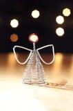 Anioł bożenarodzeniowa dekoracja Zdjęcie Royalty Free