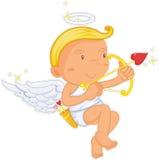 anioł chłopiec ilustracja wektor