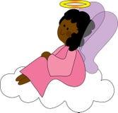 anioł chmury ilustracja wektor