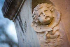 Anioł głowa Fotografia Royalty Free