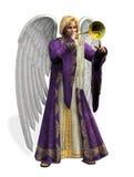 anioł Gabriel zawiera ścieżkę śliwek Obrazy Stock