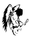 anioł hard rock wektora Fotografia Royalty Free