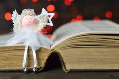 Anioł i gwiazda zdjęcie royalty free