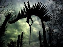 anioł latać Obraz Royalty Free