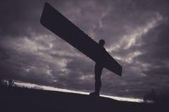 anioł na północ Zdjęcie Royalty Free