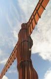 Anioł Północny Gateshead Newcastle uk Obrazy Royalty Free