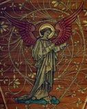 Anioł robi muzyce (obraz) zdjęcie royalty free