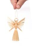 anioł słomy Zdjęcia Royalty Free