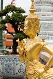 Anioł statua Kinnara obrazy stock