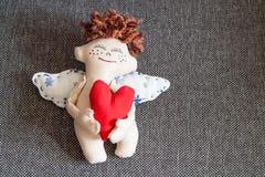 anioł szczęśliwy Fotografia Stock