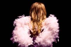 anioł to walentynki dni zdjęcie stock