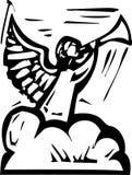 Anioł trąbka ilustracja wektor