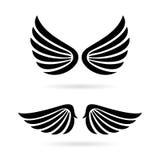 Anioł uskrzydla wektorową ikonę ilustracja wektor