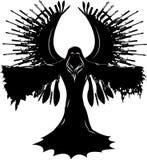 Anioł wojna royalty ilustracja