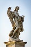 Anioł z kostka do gry i szatą obrazy stock