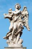 Anioł z nadpisem Gian Lorenzo Bernini i syn Paolo 1598, 1680 (-) Rzym, Rzym - obrazy stock