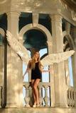 Anioł z skrzydłami Obrazy Royalty Free