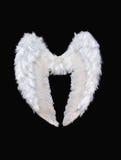 anioła biel skrzydła Obrazy Stock
