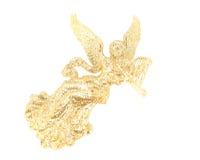 anioła bożych narodzeń harfa Zdjęcie Stock