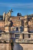 anioła bridżowy Rome święty fotografia royalty free