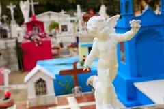 anioła cmentarz karaibski katolicki oblicza świętych Zdjęcie Stock