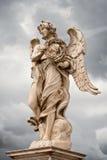anioła korony Rome statuy cierń obrazy royalty free