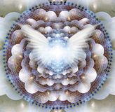 Anioła mandala ilustracji