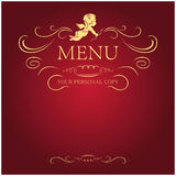 anioła menu Zdjęcia Royalty Free