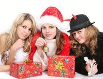 anioła Santa tweedledum obraz stock