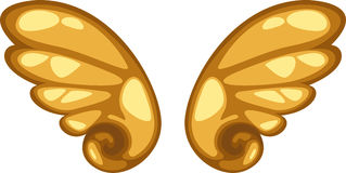 anioła skrzydło Obraz Royalty Free