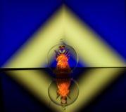 anioła szkło Zdjęcie Royalty Free