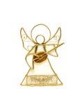 anioła tła odosobniony biel Zdjęcia Royalty Free